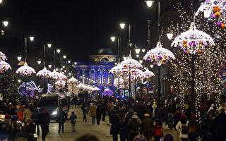 組圖:聖誕腳步近 繽紛綵燈喜相迎
