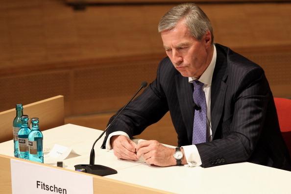 德意誌銀行總裁給黑森州州長打電話投訴引起媒體激烈批評。(Mathis Wienand/Getty Images)