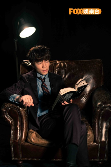 蕭敬騰扮神探拍短片「戲」胞上身煞不住