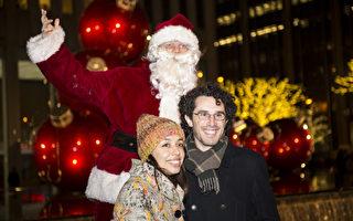 """组图:跨越""""2012""""  纽约浪漫圣诞夜"""