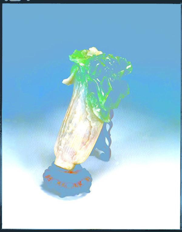 翠玉白菜(图:故宫博物院提供)