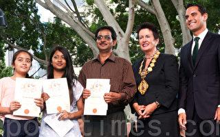 澳洲国庆日宣誓入籍人数创新高