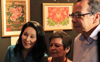 尼加拉瓜舉辦台灣版印年畫特展