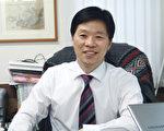 首尔大洋律师事务所的代表律师、法学博士河宁柱。(摄影:文龙/大纪元)