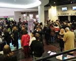 2月15日(星期五)晚,神韻國際藝術團在美國田納西州納甚維爾田納西表演藝術中心(TPAC)的巡迴演出拉開序幕。(攝影:余清洲/大紀元)