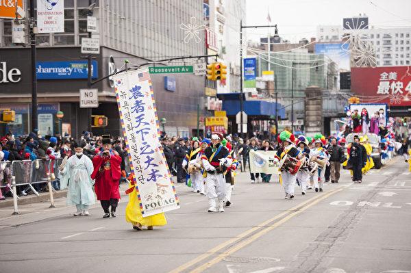 纽约庆祝中国新年大游行(摄影:戴兵/大纪元)