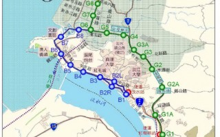 淡海轻轨  长14公里设20站