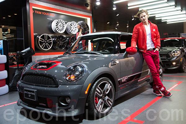 MINI John Cooper Works GP是限量级产品(加拿大只有50辆)。(摄影:艾文/大纪元)