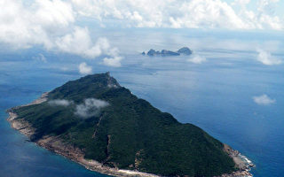 国海上有争议的岛屿。图为钓鱼岛。(JIJI PRESS/AFP)