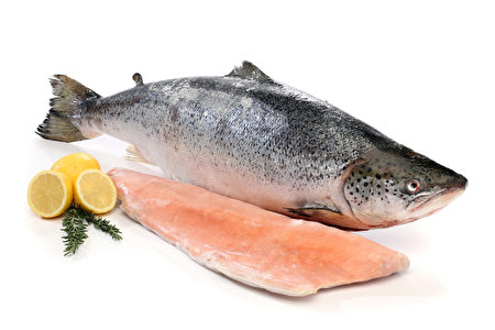 鮭魚是含豐富ω-3的健康食物。(圖片來源:Fotolia)