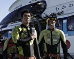 日本史上最卖座电影《海猿》演员伊藤英明、佐藤隆太成为好友。(图/甲上提供)