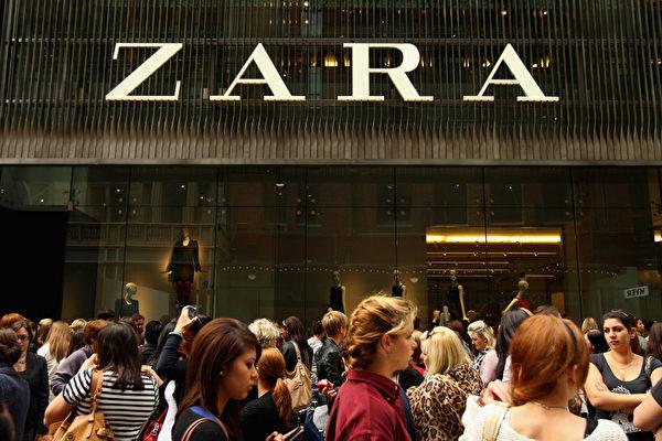 ZARA品牌於1975年創立,如今在85個國家擁有5,900家店。圖為ZARA位於澳洲悉尼的分店。(Cameron Spencer/Getty Images)