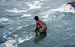 印度汙水8成未處理即流入河