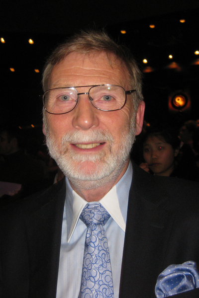 郵票收藏顧問Geoffrey Herdman表示:「像神韻這種級別的舞蹈我從來沒見過。」( 攝影:孟若涵/大紀元)