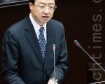 行政院长江宜桦8日表示,国民党团提出的核四公投案主文,意思很清楚,并不复杂。(摄影:陈柏州 /大纪元)