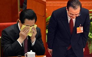 两会疯传图片:温家宝三鞠躬 胡锦涛掩面流泪