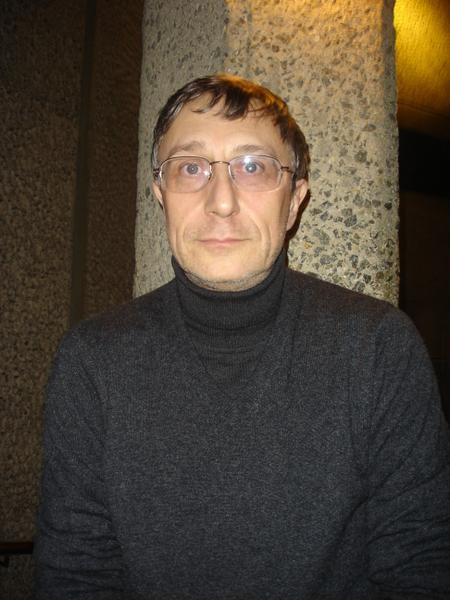 資深物理學家Vladimir Falko觀看神韻後,驚歎神韻舞蹈優美驚人。(攝影:李景行/大紀元)