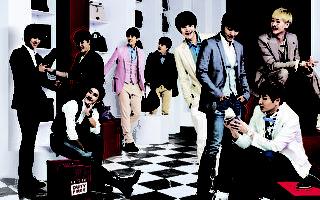 Super Junior高圓圓拍MV  錄製中文版歌曲