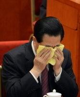 胡锦涛在十八大和两会会场为何落泪?(下)