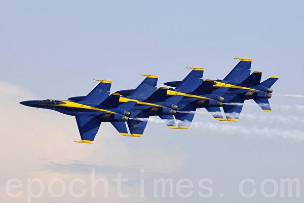 美海军蓝天使飞行队取消所有表演