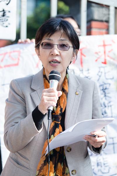 台大新聞研究所教授張錦華提到,「中國因素」已明顯正在侵蝕台灣的言論多元和媒體生態。(攝影:陳柏州 /大紀元)