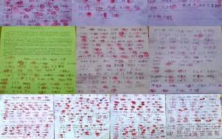 河北青龙县5000民众联名呼吁释放法轮功学员