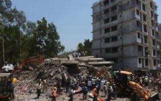 組圖:印度高樓倒塌 已68死數十人傷