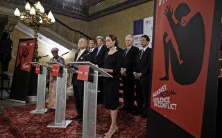安吉丽娜·朱莉八国外长会议发声
