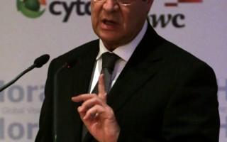 賽普勒斯總統阿納斯塔西亞迪斯14日表示,存款在賽普勒斯銀行,根據歐洲聯盟(EU)對賽國紓困案而損失至少300萬歐元的外國人,將可獲發賽普勒斯護照。(PATRICK BAZ /AFP)