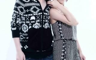 江美琪与小宇联合开唱 宣传照呈现音乐概念