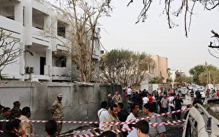 利比亚法国使馆遭炸弹攻击 2警卫受伤
