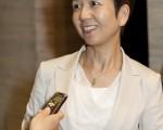 兵庫縣中小型企業同友會會員,女社長的辻本美波(Minami Tujimoto)女士觀看演出後,她感嘆道:「真不愧是有著悠久歷史文化的中國,沉澱下來的歷史文化的規模完全是一個特別的數量級別。」(攝影:余鋼/大紀元)
