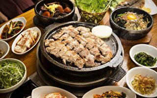 韩国美食街元老 石板烤肉第一家