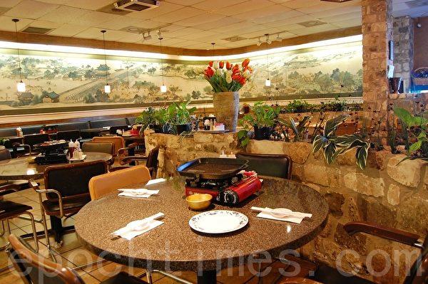 華園(Hwa Yuan Korean B.B.Q.)是一家老字號的韓國餐廳。(攝影:安吉/大紀元)