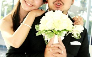 阿達LULU夏威夷出外景 換婚紗假裝結婚
