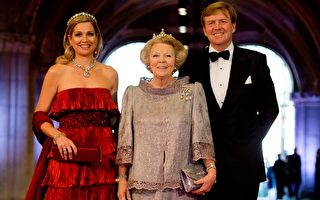 組圖:荷蘭新國王登基晚宴 各國王室雲集
