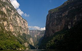 組圖:墨西哥蘇米德羅峽谷壯麗風光