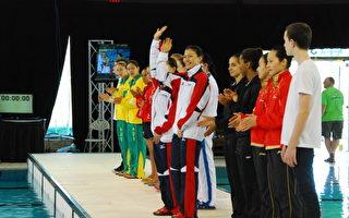 中加選手包攬泳聯加拿大跳水比賽冠軍(多图)