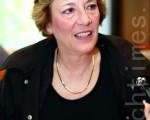 北韩自由联盟主席苏珊‧斯考特(Suzanne Scholte)。(摄影:全宇/大纪元)