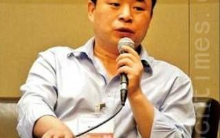 中国网络作家慕容雪村。(摄影:潘在殊/大纪元)