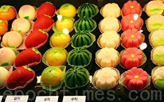 纯天然食品 受青睐 。(摄影:全宇/大纪元)