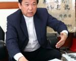 韩国风水地理神眼系物形科学院院长、道诜大师第34代传人朴珉赞日前接受《大纪元》记者专访时,分析风水地理的科学性。(摄影:全宇/大纪元)