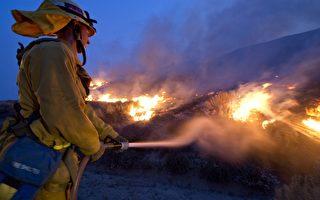 加州野火延燒 至少毀5建築