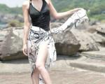 女星陶妍霖在电视剧《真爱黑白配》中饰演骄纵大小姐。(图/三立提供)