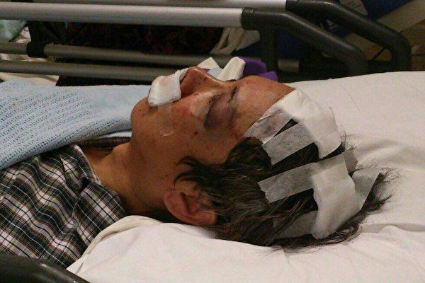香港男子悼李旺阳 四汉当街折凳施击