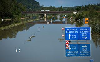 德國罕見大水蔓延 比世紀洪水還厲害