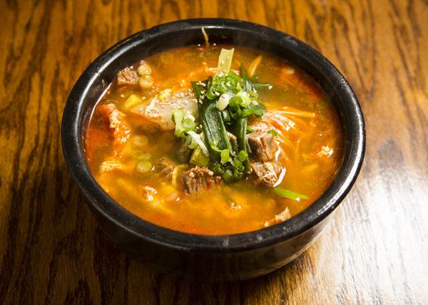 鮮香牛肉蔬菜湯。(攝影:愛德華/大紀元)