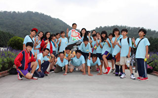 台湾竹安国小  学生用花生萝卜圆毕旅梦