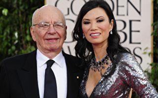 傳媒大亨默多克向法院提出與華裔妻子鄧文迪離婚
