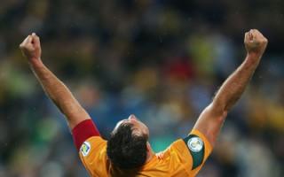 澳洲隊1:0勝伊拉克隊 進軍巴西世界盃